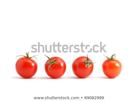 little cherry tomato Stock photo © M-studio