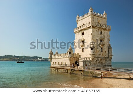 Belem tower, symbol of Lisbon. Portugal Stock photo © serpla