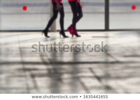 Close-up of seductive young woman's legs in high-heeled Stock photo © RuslanOmega