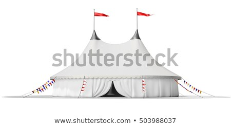 red and white big top Stock photo © prill