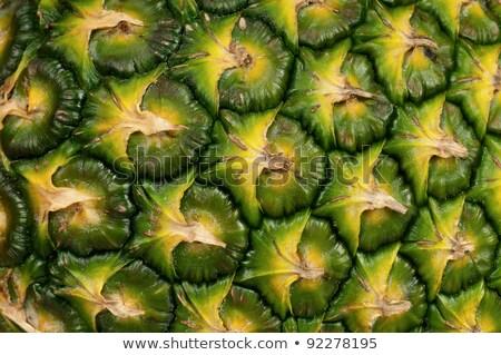 Közelkép érett ananász étel háttér narancs Stock fotó © inaquim