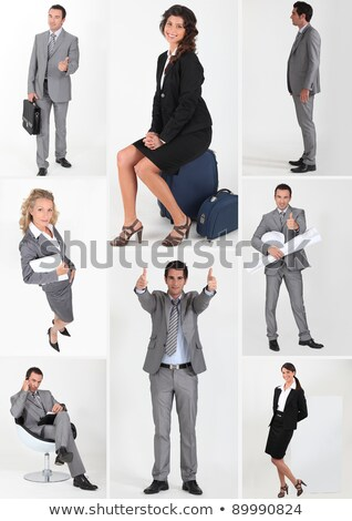 miscellaneous snapshots of male and female business persons Stock photo © photography33