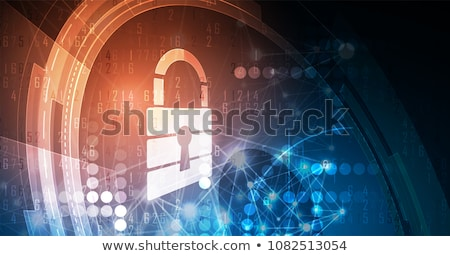 Financial security Stock photo © kjpargeter