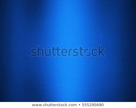 elegant blue metallic background stock photo © monarx3d