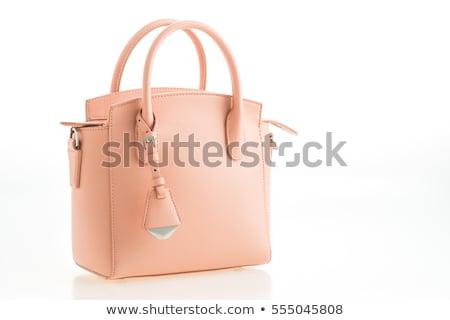 luxurious clutch bag isolated on white stock photo © gsermek