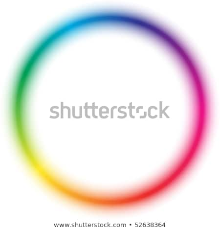 shining rainbow rings Stock photo © marinini