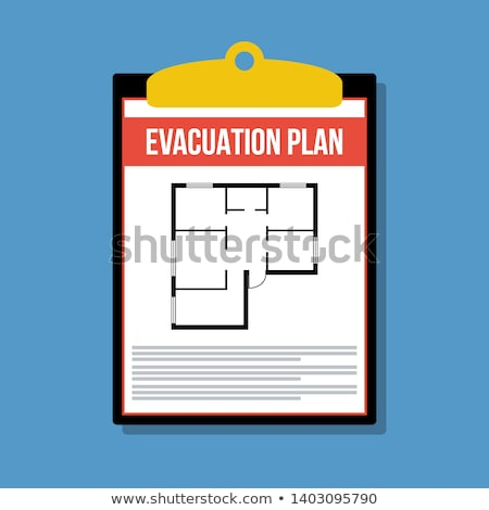 Evacuation plan Stock photo © cheyennezj