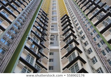 Гонконг · общественного · жилье · квартиру · небе · воды - Сток-фото © kawing921