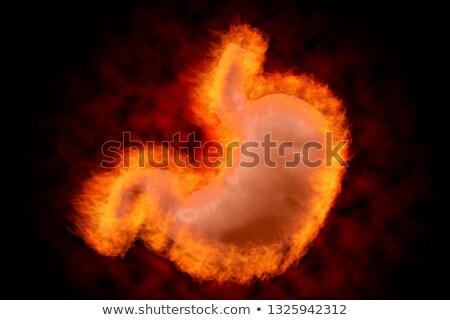 Fiery Burning Pain Stock photo © ArenaCreative