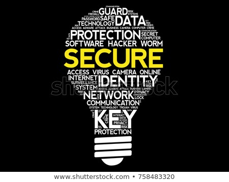 security wordcloud concept stock photo © tashatuvango