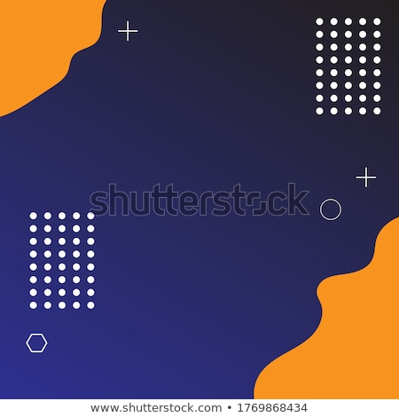 abstract geometric blue and yelow background colorful color Stock photo © marimorena