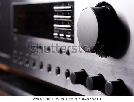 Son hacim ses müzik ışık ev Stok fotoğraf © artlens