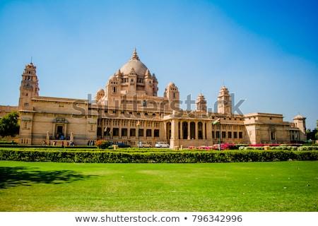 Palácio edifício antigo turismo ícone Índia Foto stock © faabi