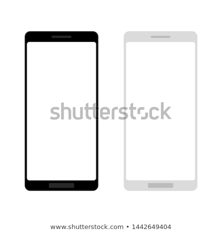 android with wifi symbol and blank screen tablet stock photo © kirill_m