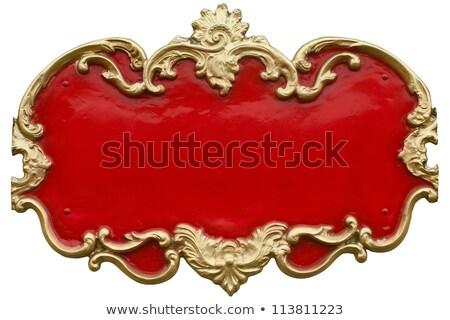 красный цирка барокко кадр большой Top Сток-фото © tintin75