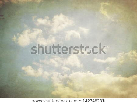 Vintage sky background, texture with the base of the sky. Stock photo © oly5