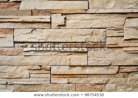 background shot of layered stone wall stock photo © shanemaritch