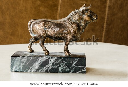 statuette of a bull Stock photo © sfinks