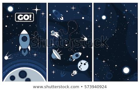аннотация · научный · галактики · туманность · пространстве · Элементы - Сток-фото © nejron