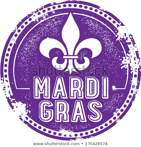 Grunge mardi gras background Stock photo © gladiolus