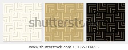 Senza soluzione di continuità disegno geometrico abstract vintage pattern line Foto d'archivio © Kheat