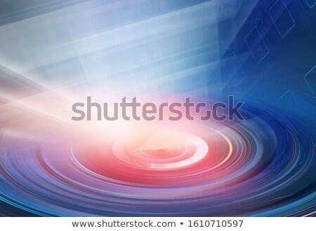 Data center kolor hot stylizowany ilustracja serwerów Zdjęcia stock © tracer