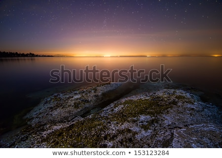 Vancouver Lights From Galiano Island Stock photo © jameswheeler