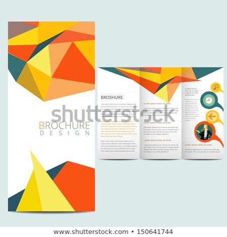 向量 · 傳單 · 模板 · 設計 · 業務 · 工作場所 - 商業照片 © davidarts