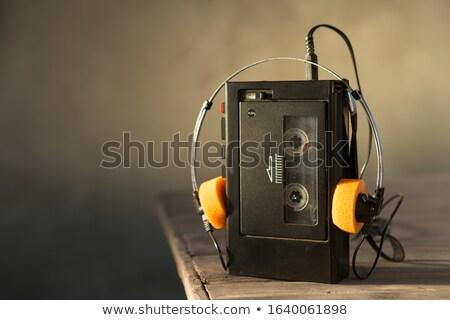 Cassete player Stock photo © Suljo