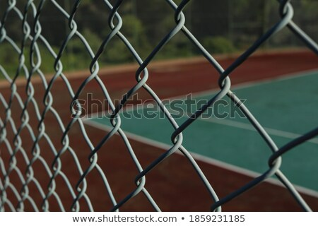 Close up of park fencing iron net Stock photo © ziprashantzi