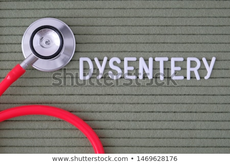 Dysentery Diagnosis. Medical Concept. Stock photo © tashatuvango