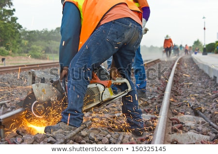 Railroad Track Repair Stock photo © Trigem4