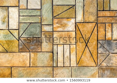 brown and gray pavement figured form stock photo © tashatuvango