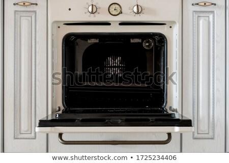 nyitva · szellőzés · sütő · forró · levegő · konyha - stock fotó © brebca