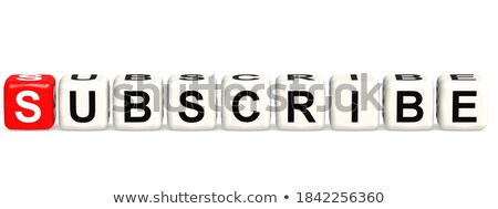 join free in 3d letters and block Stock photo © marinini