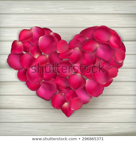 Stok fotoğraf: Güller · kalpler · eps · 10 · sevgililer · günü
