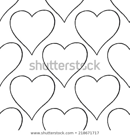 love background made from white hearts eps 8 stock photo © beholdereye