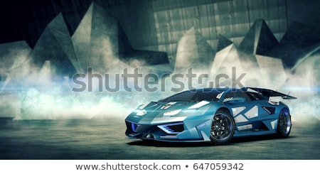 3D Concept Car Stock photo © idesign