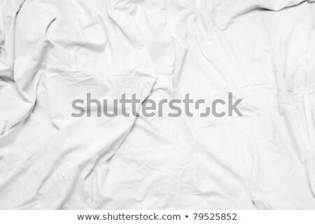 Crumpled bedding texture Stock photo © stevanovicigor
