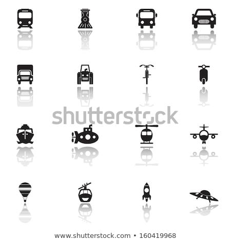 Trator ver imagem estrada Foto stock © vectorworks51