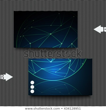alien business card light Stock photo © VadimSoloviev