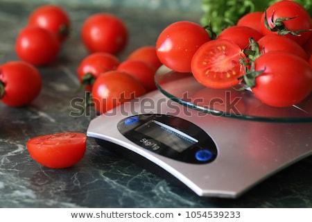 Весы кухне внутренний инструментом рынке студию Сток-фото © perysty
