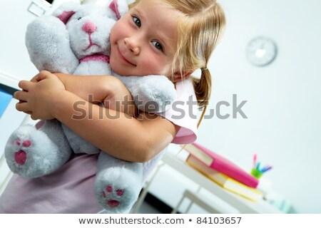 Petite fille favori jouet femme bébé Photo stock © ISerg