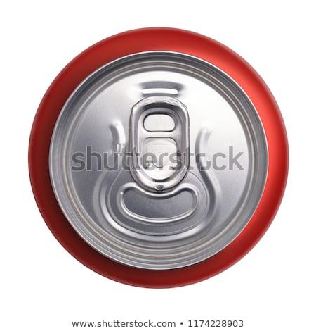 Foto stock: Beber · pueden · superior · dirigir · vista · aluminio