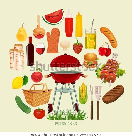mais · twee · geïsoleerd · witte · voedsel · blad - stockfoto © stevanovicigor