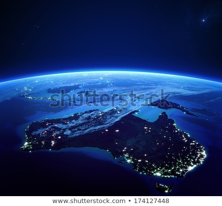 Australia. Elements of this image furnished by NASA Stock photo © ixstudio