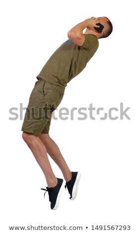 Back view of posing go-go dancer Stock photo © julenochek