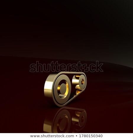 mechanisch · onderhoud · metaal · versnellingen · zwarte · business - stockfoto © tashatuvango