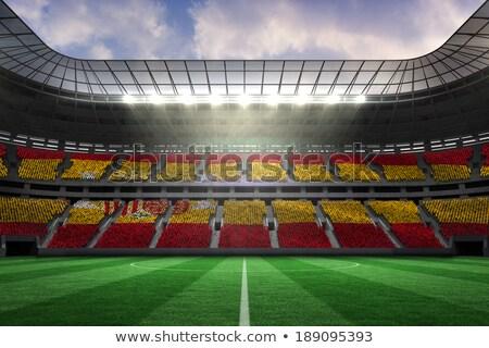 Digitally generated image of stadium Stock photo © wavebreak_media