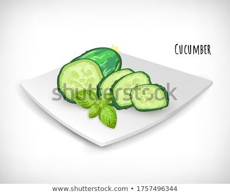 vegetarian food on a plate Stock photo © ssuaphoto